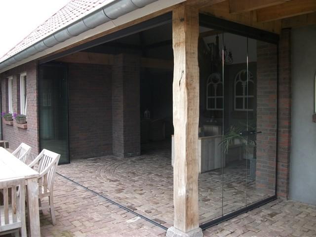 Lumalux someren verandabeglazing balkonbeglazing en vouwwanden - Buiten image outs ...